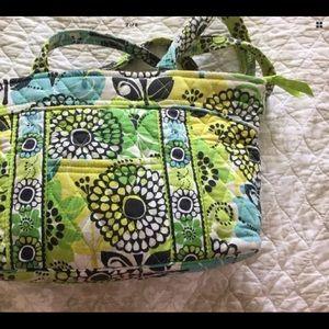 VERA BRADLEY Hand Bag Purse Limes up Abbey Floral